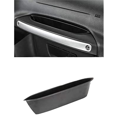 Salusy Passenger Storage Tray Organizer Grab Handle Storage Box Compitable with 2011-2020 Jeep Wrangler JK JKU: Home Improvement