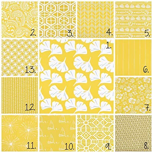 Amazon.com: Mimosa Yellow Curtain Panel Set Seaside