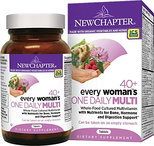 Organic Woman's Multivitamin by New Chapter 40+, 72 ct