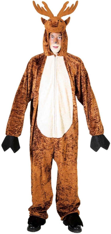 Faschingsfactory.com - Disfraz de ciervo (talla única): Amazon.es ...