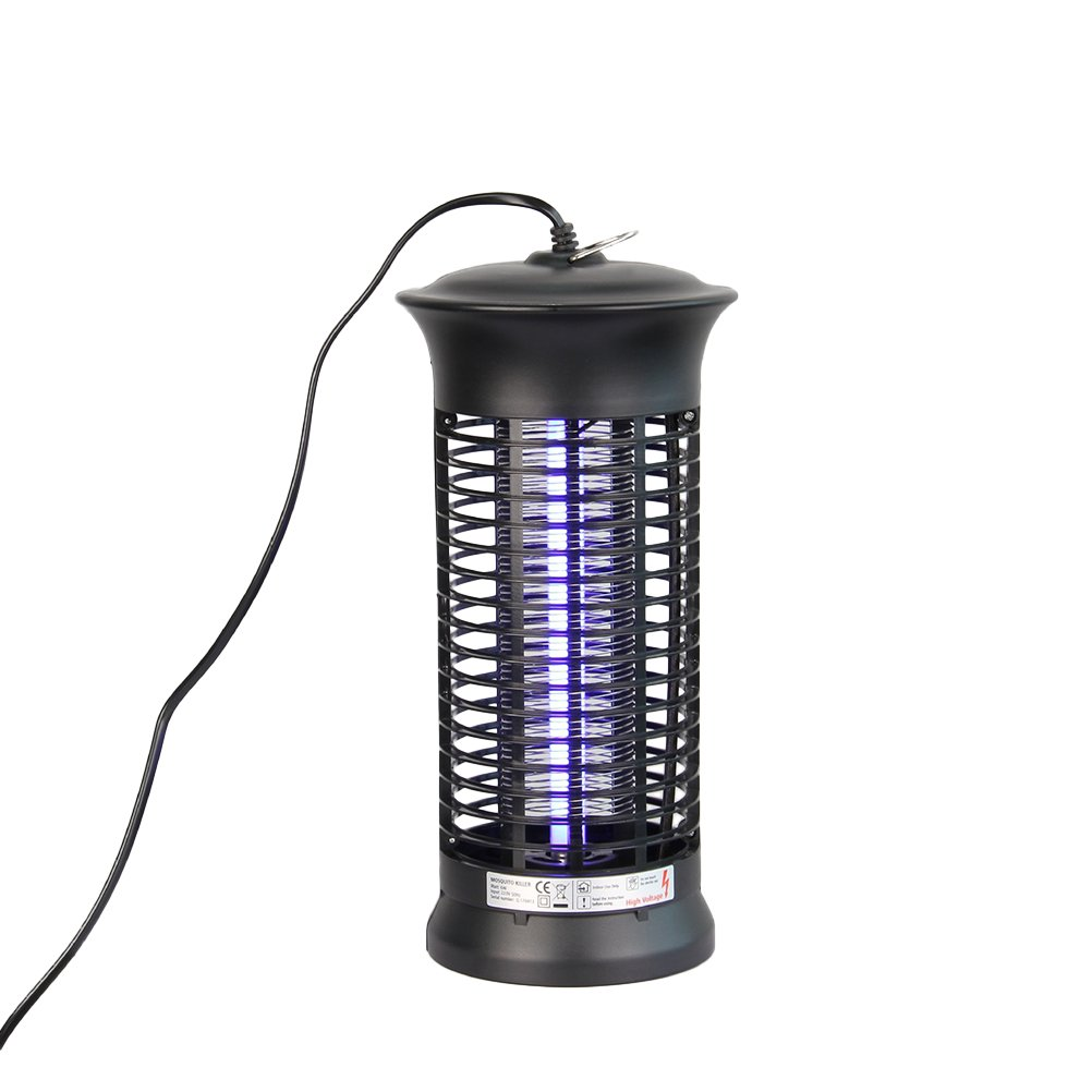 OUNONA Electronic Bug Zapper Electric Shock Mosquito Killer Lamp Fly Pest Bugs Insect Killer Light with US Plug