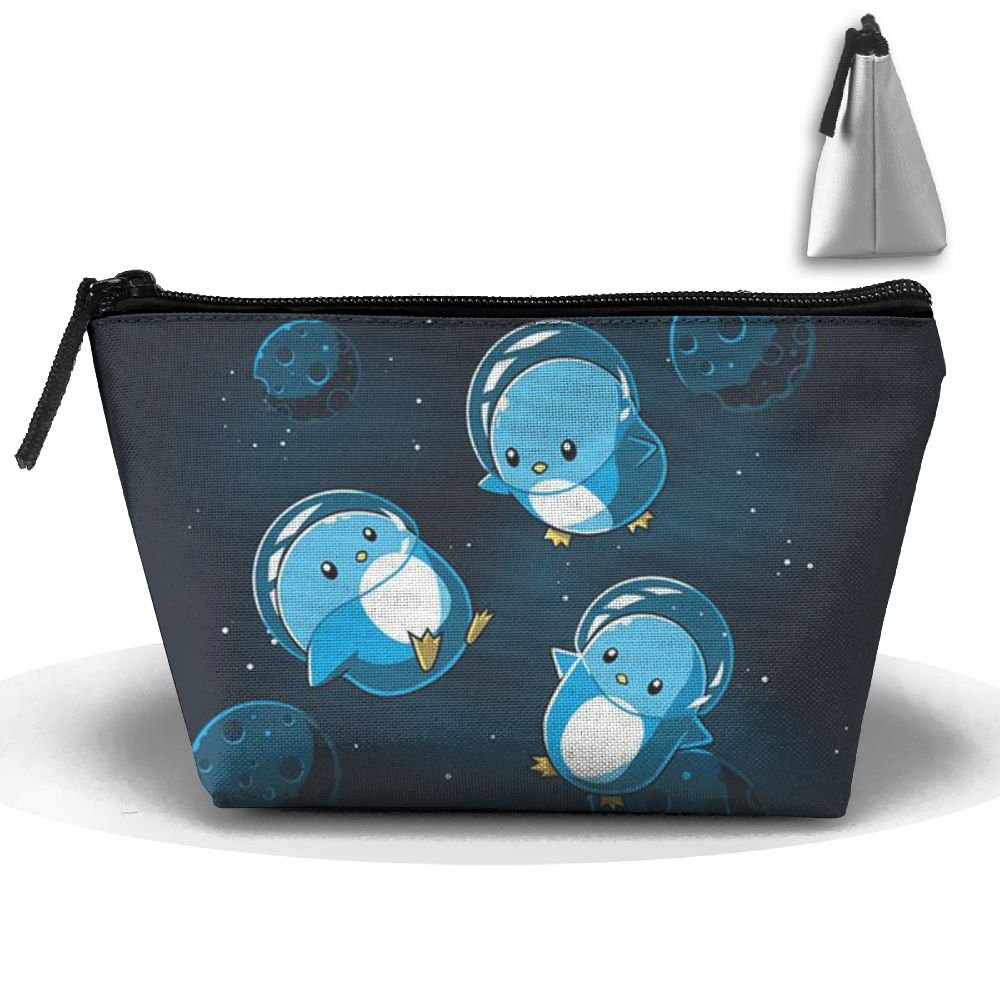 Penguin Astronaut High-capacity Storage Bag Multi-purpose Storage Bag Portable Bag Trapezoidal Storage Bag