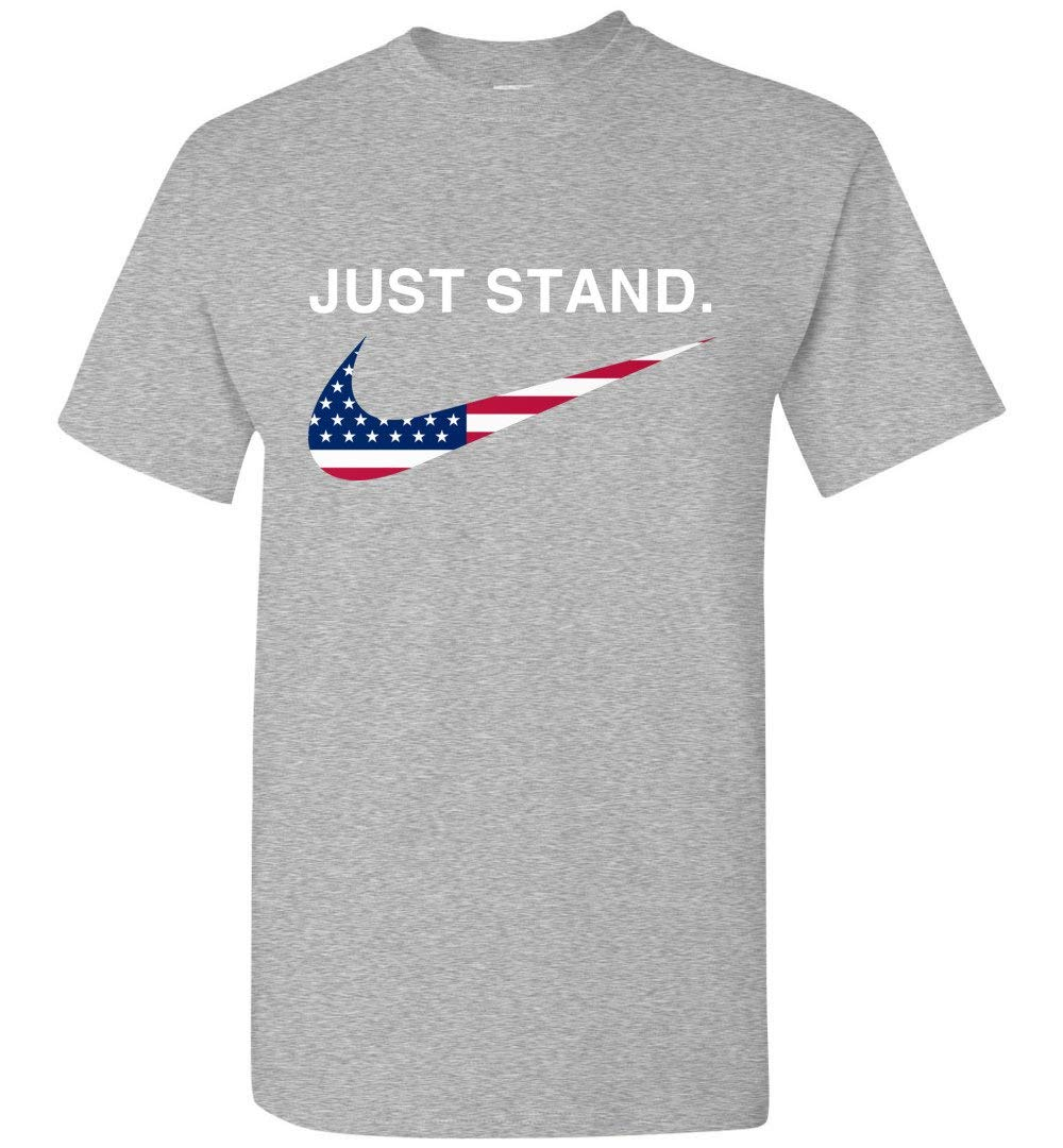 Just Stand T Shirt Adult And 5633
