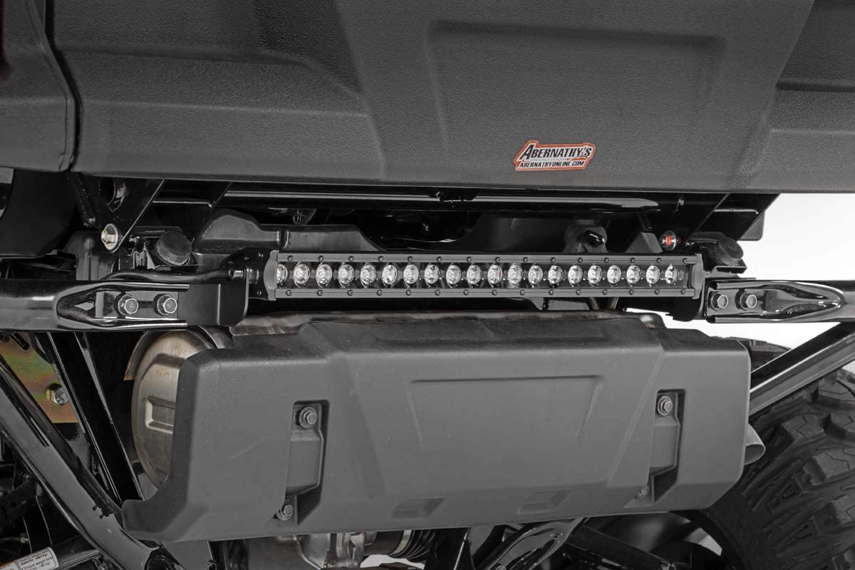 amazon com rough country 20 rear lower led kit fits 2016 2020 honda pioneer 1000 single row light bar 7 200 lumens 92006 rough country automotive amazon com