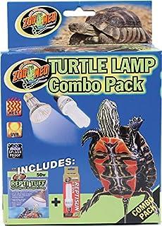 Amazon.com : Zoo Med Aquatic Turtle Uvb & Heat Lighting Kit : Pet ...