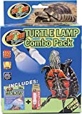 heat lamp bulb turtle - Zoo Med Combo Pack Turtle Lamp