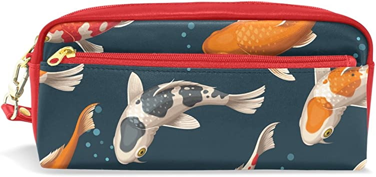 Leather Koi Pouch