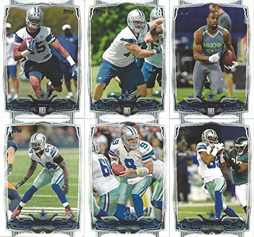 Dallas Cowboys 2014 Topps NFL Football Complete Regular Issue 12 Card Team Set Including Tony Romo, Dez Bryant, Demarco Murray Plus