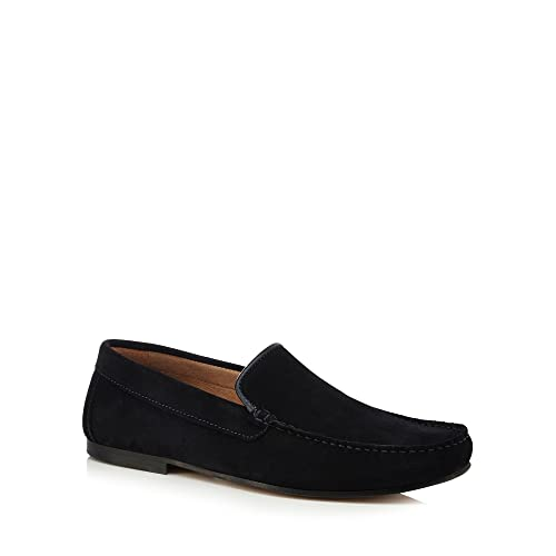 Debenhams J by Jasper Conran Men Navy Suede 'Zeus' Slip on Shoes 8