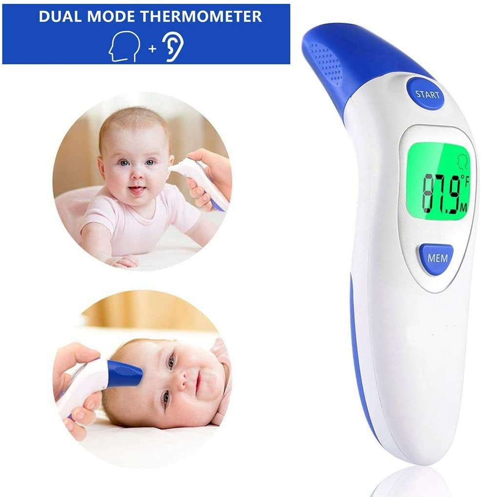 Adults Children Suines Baby Forehead Thermometer Digital Medical Infrared Body Temporal Thermometer for Kids Infants Toddlers,Older