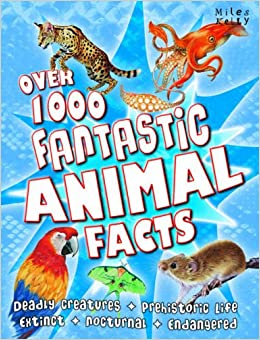 Book Over 1000 Fantastic Animal Facts