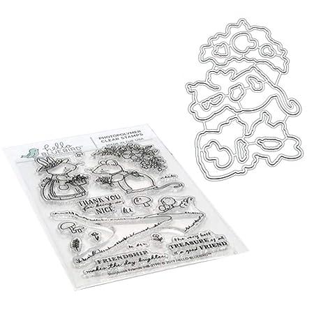 ☀ Plantillas de metal para troquelado de ratones para ...