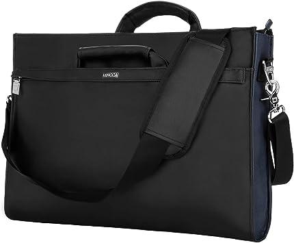 "Dell Deluxe Laptop Notebook Tablet Carrying Case Shoulder Bag Black 15/""x 12/""x 3/"""