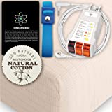 Earthing Grounding FULL Size Fitted Matress Sheet (BEIGE) 400TC Pure Silver Thread Conductive Earth