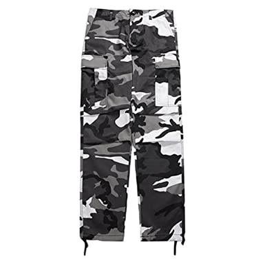 Yying Loose Hip Hop Sweatpants Cargo Pants Men Women Camouflage Pants   Amazon.co.uk  Clothing bd2c0f4e121