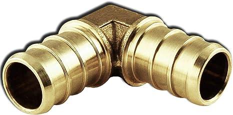 "10 1/"" PEX Elbow Brass Crimp Fittings"