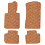 Product review for Furstil Automotive - The Original Coco Mats - Custom Fit Floor Mats Hand-Made in USA for 2012 - 2016 Porsche 911 991 Body Coupe, Convertible, Targa Natural Herringbone-Front and Rear Set-Four Piece