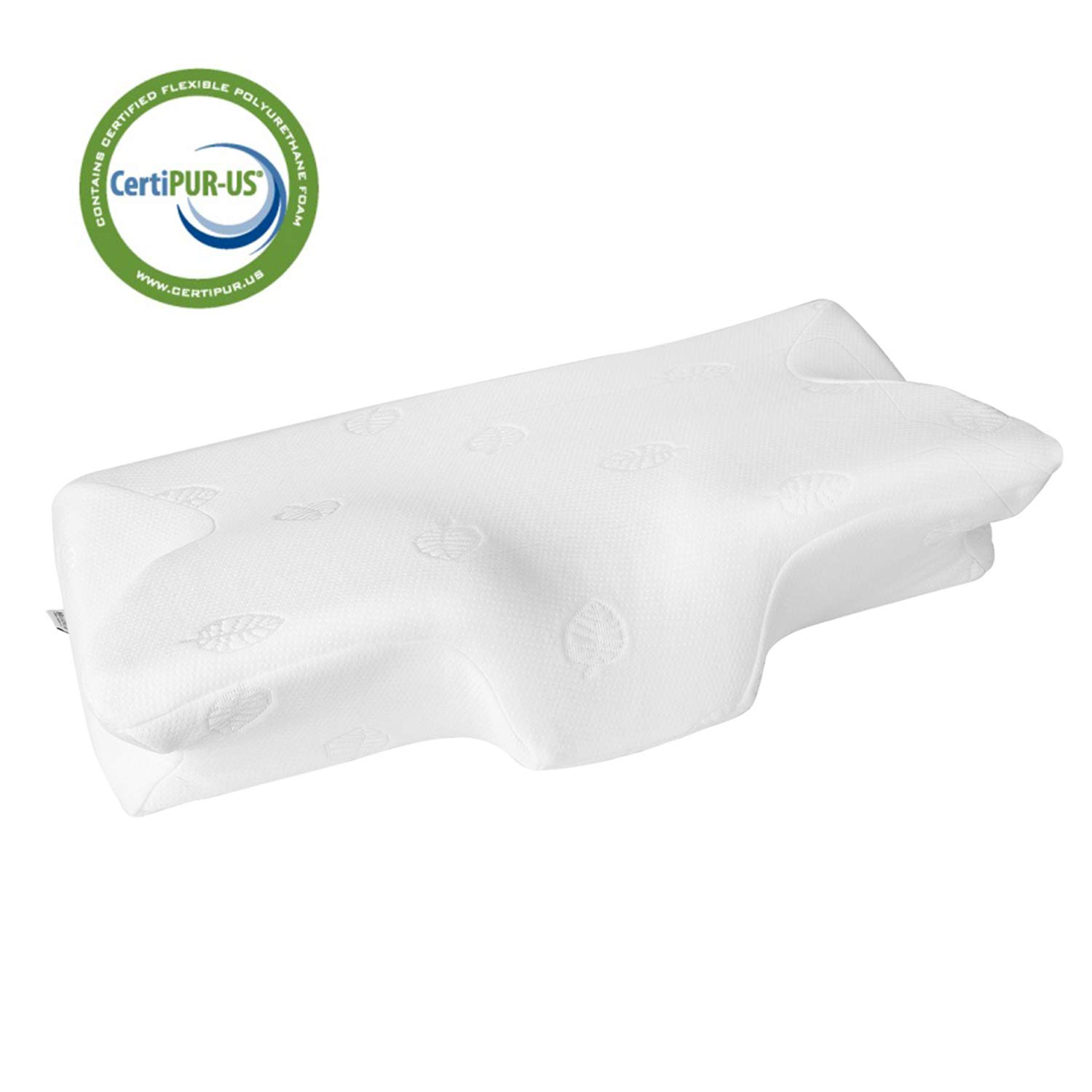 MARNUR 23.5×14.5×5.5 in Cervical Pillow Contour Memory Foam Orthopedic Pillow for Neck Pain Sleeping for Side Sleeper Back Sleeper Stomach Sleeper+White Pillowcase(1 PCS) sleep pillows Sleep Pillows Reviews and Buying Guide-Good Sleep with Good Pillows 61ZT2j7 2B2jL