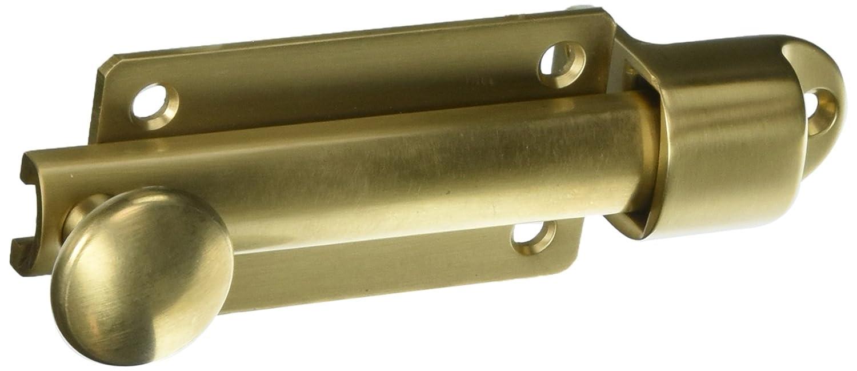 Baldwin 0345033 Dutch Door Bolt Home Improvement Vintage Brass Top Notch Distributors Inc.