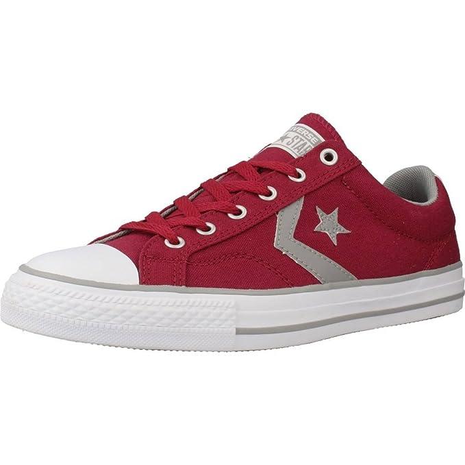 Calzado deportivo para hombre, color Rojo , marca CONVERSE, modelo Calzado Deportivo Para Hombre CONVERSE CHUCK TAYLOR STAR PLAYER OX Rojo: Amazon.es: Ropa ...