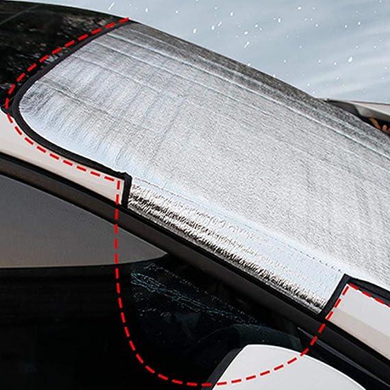 Pare-Brise Avant Voiture Magn/étique /Ét/é Hiver Hiver Neige Couvre Pare-Brise Protecteurs Supererm Protecteur Pare-Brise Voiture