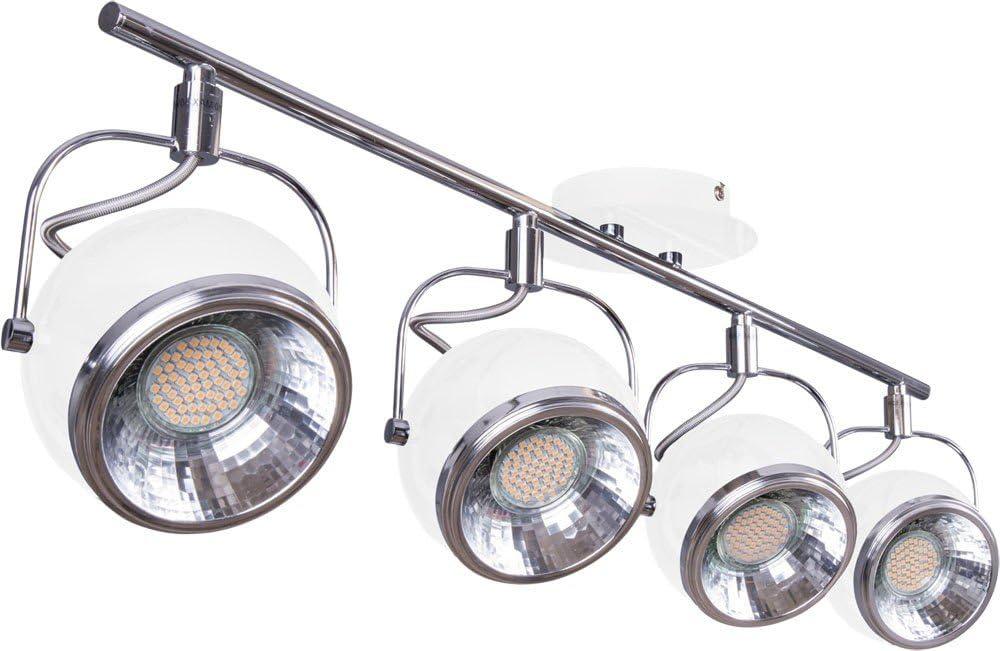 Deckenstrahler Leuchte Beleuchtung Licht Lampe Wandleuchte Retro Strahler Heitronic 27842: Amazon.de: Küche & Haushalt - Deckenstrahler
