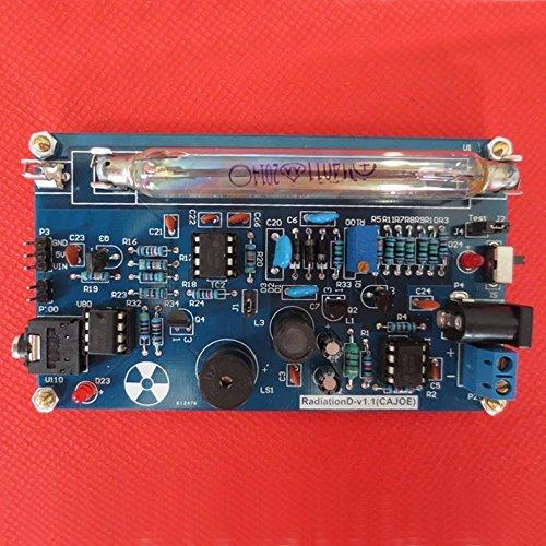 Portátil Mango Geiger counter0.01 y # x3BC; sv/H DIY Kit nuclear radiación detector con Miller gm tubo Beta Gamma Ray traje para Arduino: Amazon.es: ...