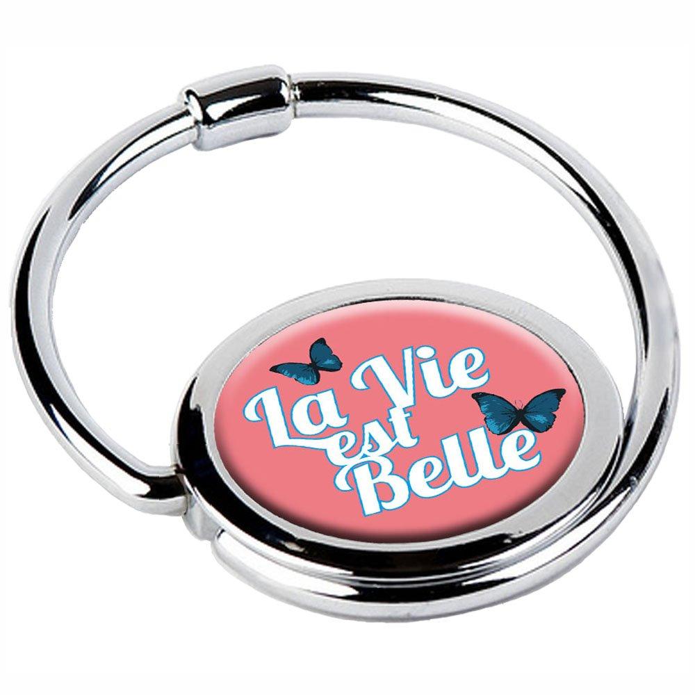 Miss Kha - Accroche-Sac Pliable La Vie Est Belle LA-VIE