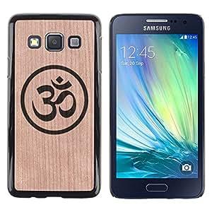 - Indian Astrological Sign Mystical Tag - - Funda Delgada Cubierta Case Cover de Madera FOR Samsung Galaxy A3 a3000 BullDog Case