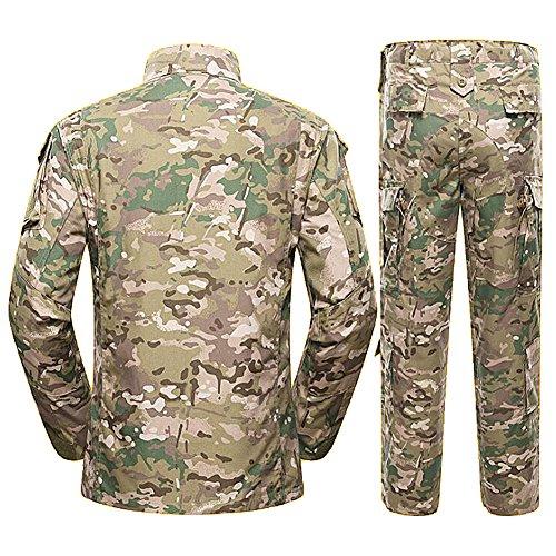 H Monde Shopping pour Homme Tactique BDU Combat Uniforme Veste Chemise & Pantalons Costume pour l'armée Militaire… 3