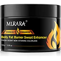 Fat Burning Cream for Belly, Hot Cream Cellulite and Fat Burner, Workout Enhancer for Stomach, Slim Cream, Abdominal…