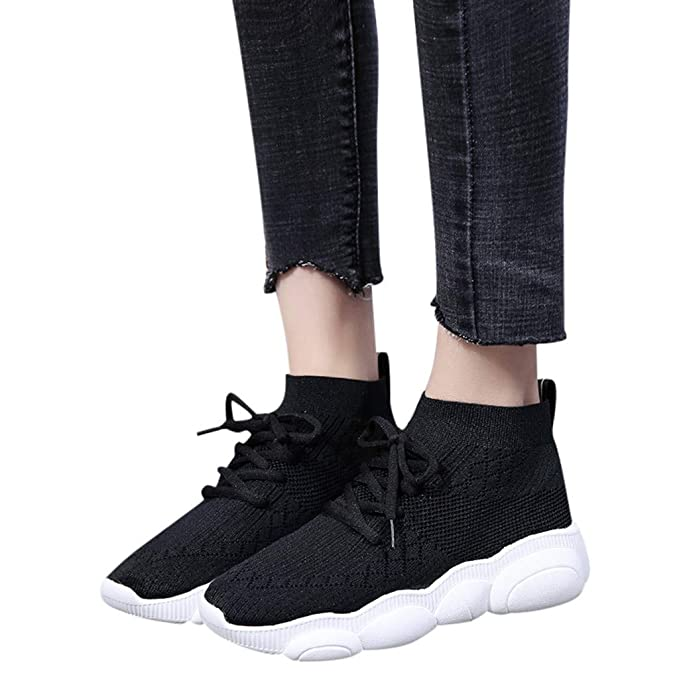 6a12cf9d81856 Amazon.com: Sharemen New Women's Shoes Fashion Stretch Fabric Sports ...