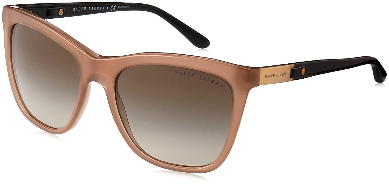 Ralph Lauren Damen Sonnenbrille » RL8151Q«, schwarz, 526071 - schwarz/grün