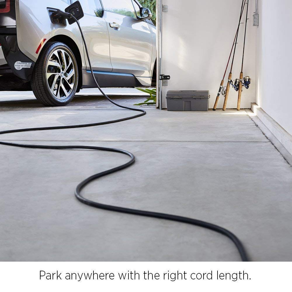PRIMECOM Level-2 Electric Vehicle EV Charger 220 Volt 30', 35', 40', 50' FEET Lengths (14-30P, 35 Feet)