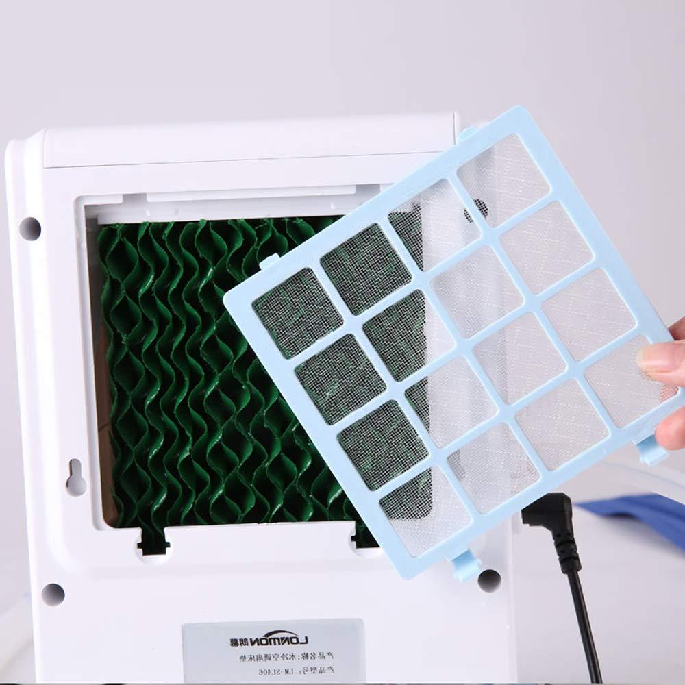 Almohadilla de 1,6 * 1,4 m HBLWX Colchoneta de Aire Acondicionado de colch/ón refrigerada por Agua protecci/ón Ambiental port/átil Interior y Exterior y Almohadilla de enfriamiento de Seguridad