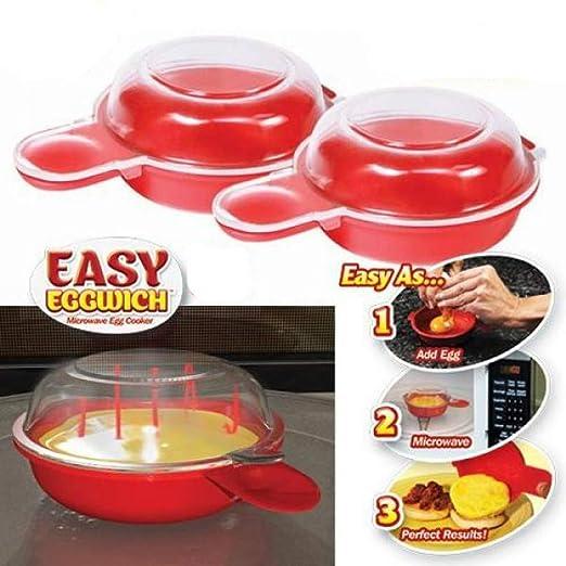 TrAdE shop Traesio® Cocedor huevos huevo Horno Microondas ...