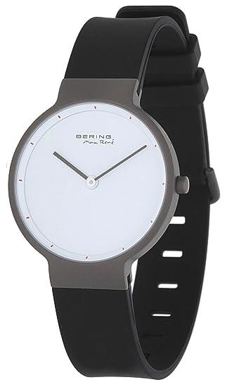 Bering Max Rene 12631-874U - Reloj de pulsera para mujer, color negro: Amazon.es: Relojes