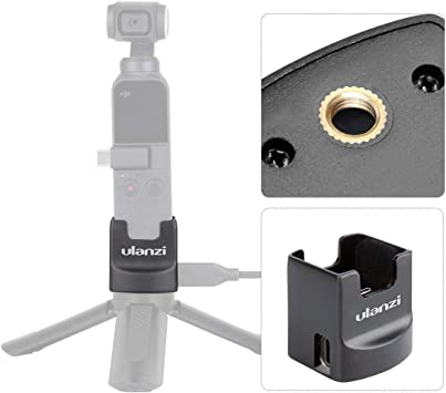 For DJI Osmo Pocket Data Port to Cold Shoe Universal Expansion Mount DB