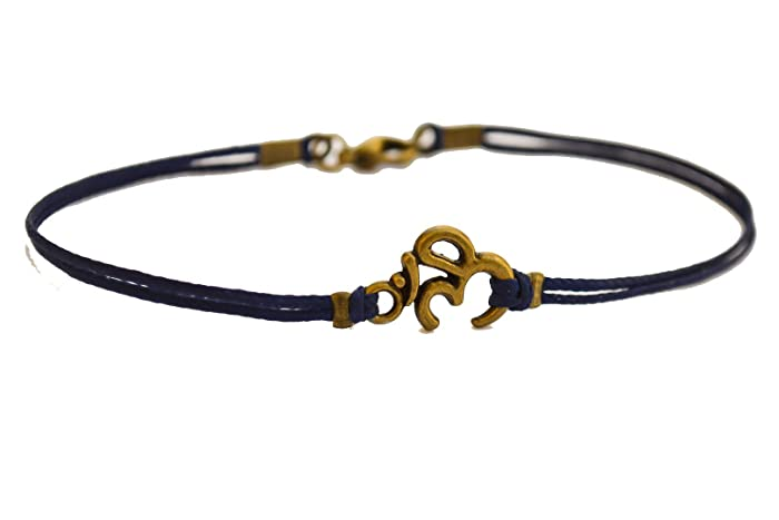 Amazon Om Bracelet For Men Mens Bracelet With Bronze Tone