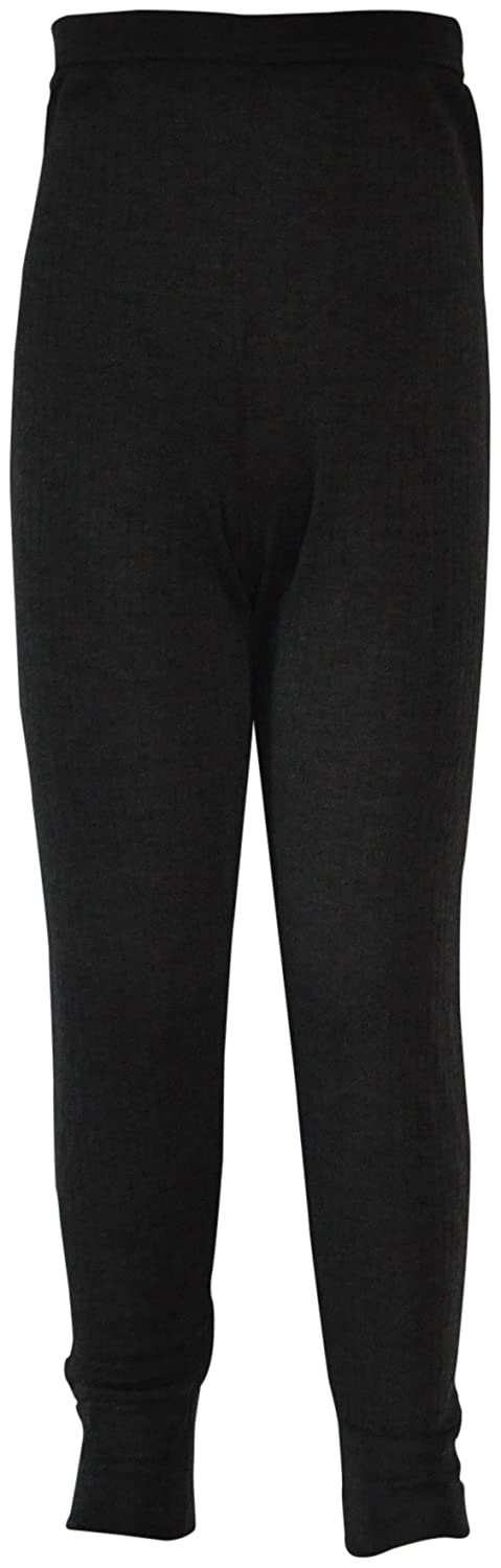 Boys Childrens Thermal Long Johns Charcoal Grey Ak126