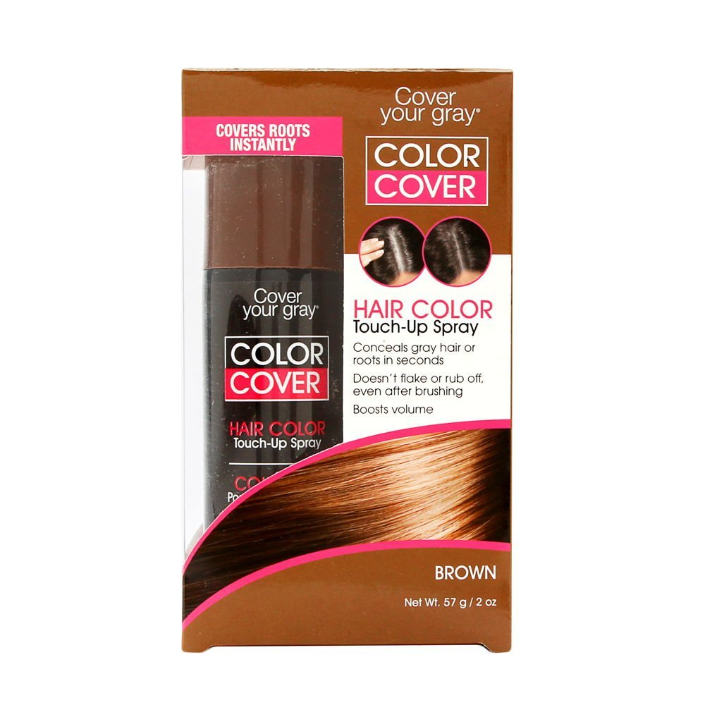 Daggett & Ramsdell Cover Your Gray Color Touch-Up Spray, Brown, 2 Ounce