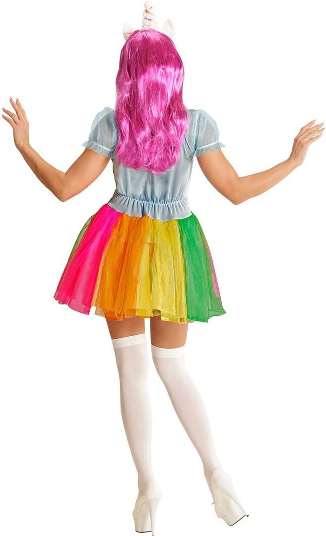 Vestido Colorido Unicornio - M (ES 40/42) | Disfraz Mujer ...