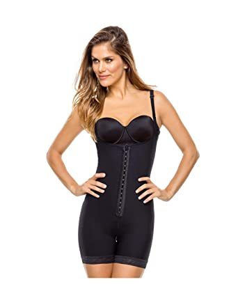08c6184882143 Leonisa Women s Firm Tummy Control and Butt Lifter Bodysuit Shaper ...
