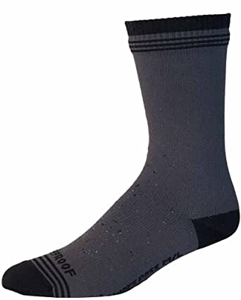 Showers Pass 100% Waterproof Breathable Cushioned Multisport Unisex Crosspoint Crew Wool Socks