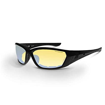 bfeab6e403b6d Image Unavailable. Image not available for. Color  Crossfire Eyewear 35231 710  Safety Glasses with Black Frame and Indoor Outdoor Anti-Fog Lens