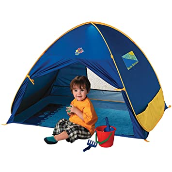 Childs Pop Up Sun Shade - UV Protection Portable Kids Tent With Travel Bag  sc 1 st  Amazon.com & Amazon.com: Childs Pop Up Sun Shade - UV Protection Portable Kids ...