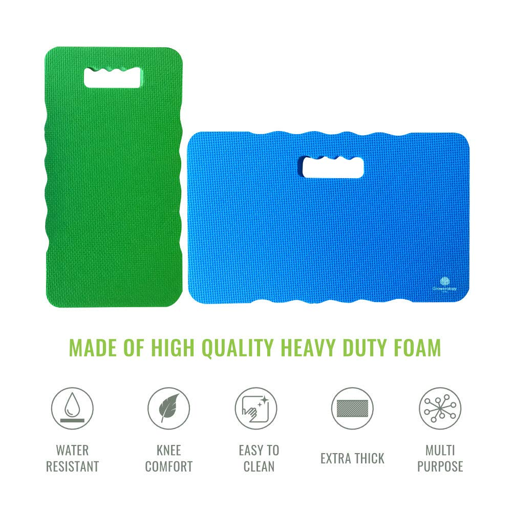 Multi-Purpose Kneeler for Gardening Pilates Cleaning Baby Bath Growerology Thick /& Large Kneeling Pads Gym Pack of 2 Sizes Automotive /& Home Bathtub Kneeling Mat for Fitness Yoga Prayer