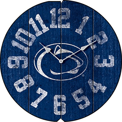 - Imperial Officially Licensed NCAA Merchandise: Vintage Round Clock, Penn State Nittany Lions