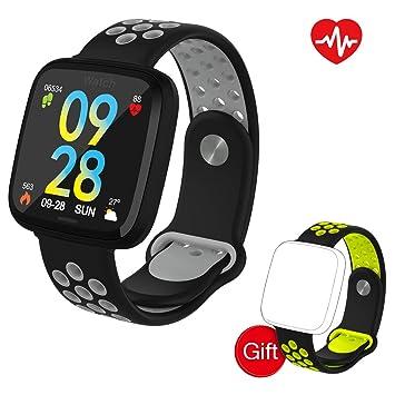 VANWALK Montre Connectée/Bracelet de Sport/Smartwatch 1.3