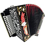 Brand New Russian Tulskaya Garmon Kulikov Field, Kulikovo Pole, Tula Harmonika, Button Accordion, High-class Musical Instrument, 3-tonal, 2 Rows 25x25 G 3